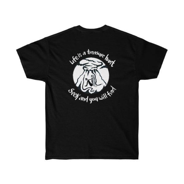 Seek and You Shall Find Cotton Tee 4